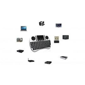 Baisha i8 2.4GHz Handheld Mini Wireless Keyboard Mouse Combo